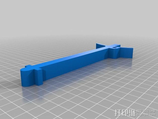 Robo 3D打印机的线轴支撑架 3D模型  图4