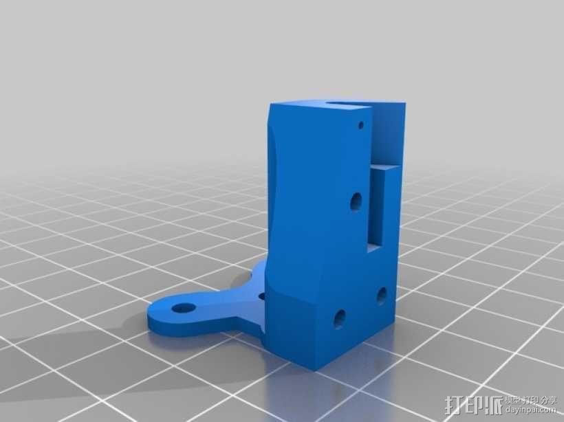Kossel Mini打印机的取消探针 3D模型  图2