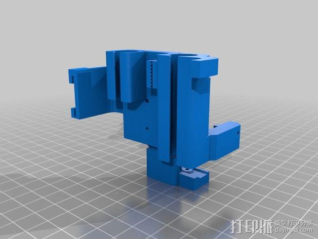 挤出机套件 替换件 3D模型  图2