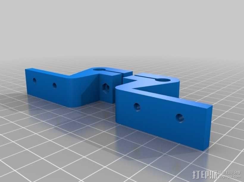 prusa i3打印机顶部框架支架 3D模型  图2