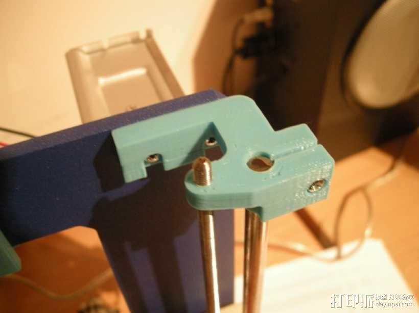 prusa i3打印机顶部框架支架 3D模型  图4