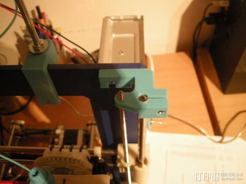 prusa i3打印机顶部框架支架 3D模型  图5
