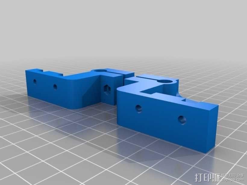 prusa i3打印机顶部框架支架 3D模型  图3