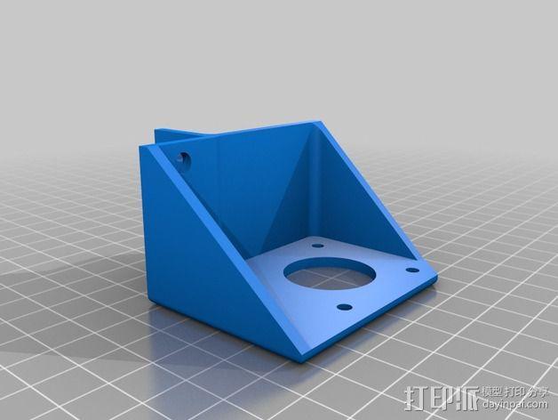 Core XY打印机 3D模型  图10