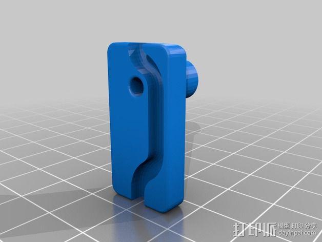 线轴支架 3D模型  图11