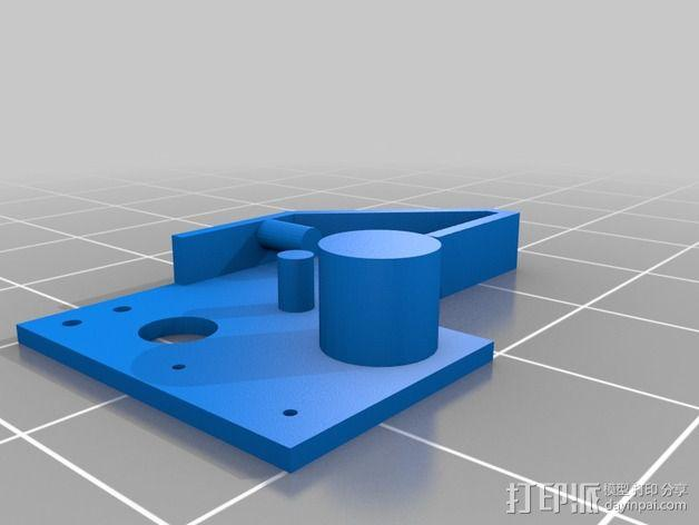 可打印的限位开关 3D模型  图5