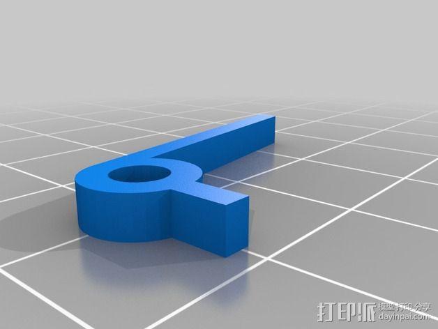 可打印的限位开关 3D模型  图7