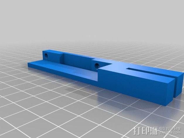 液晶显示屏保护罩和支架 3D模型  图4