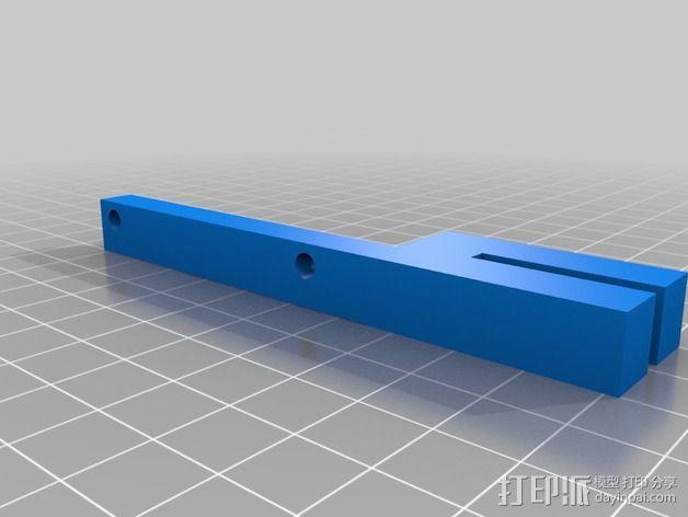 液晶显示屏保护罩和支架 3D模型  图5