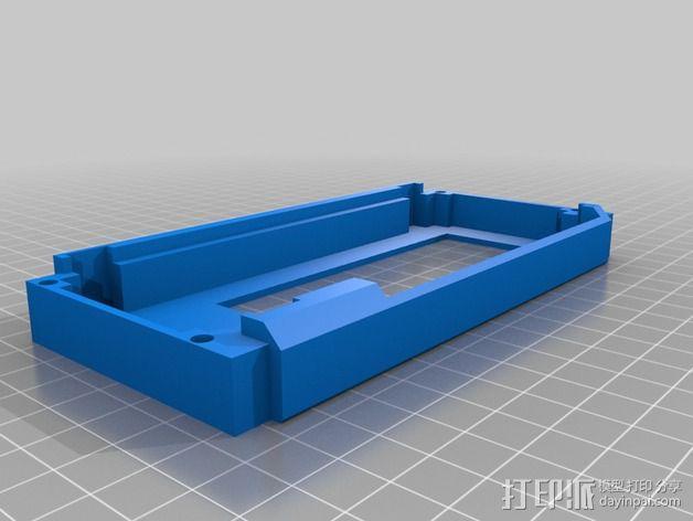 液晶显示屏保护罩和支架 3D模型  图6