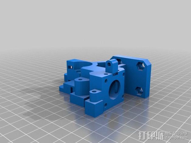 WADE挤出机 3D模型  图2