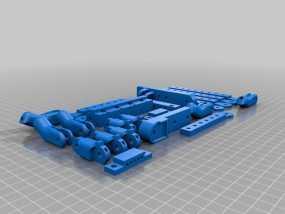 机器人手臂 机械臂 3D模型