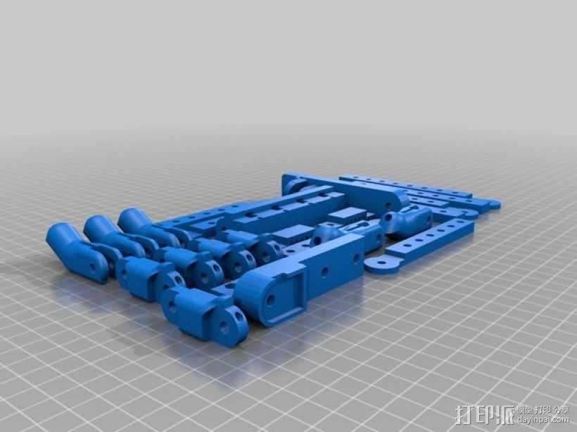 机器人手臂 机械臂 3D模型  图4