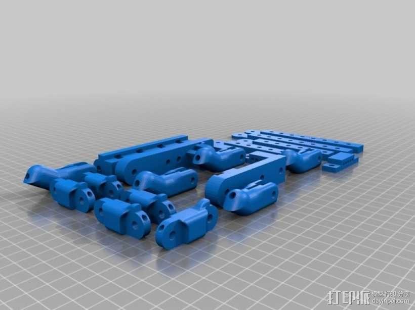 机器人手臂 机械臂 3D模型  图5