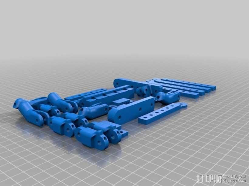 机器人手臂 机械臂 3D模型  图11