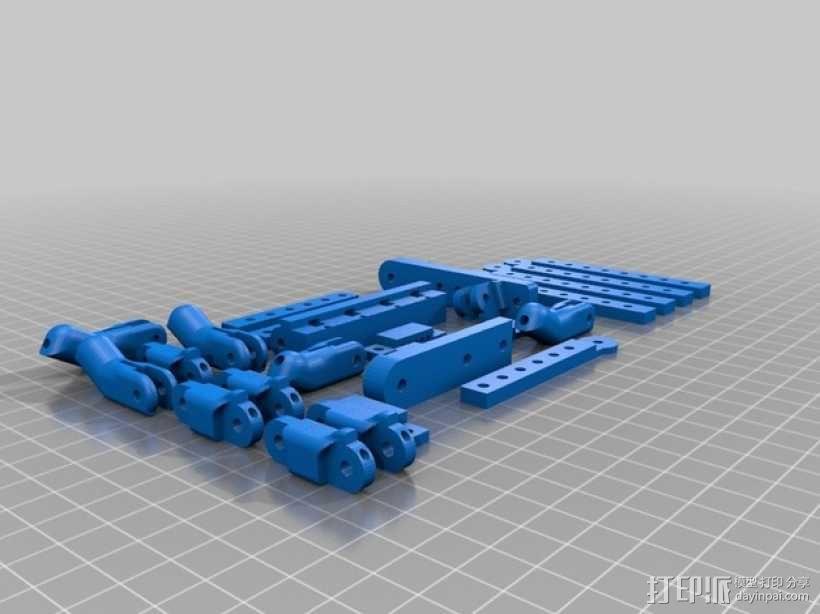 机器人手臂 机械臂 3D模型  图18