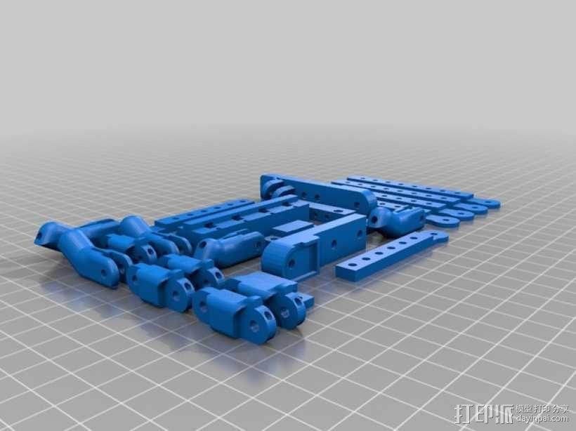 机器人手臂 机械臂 3D模型  图19