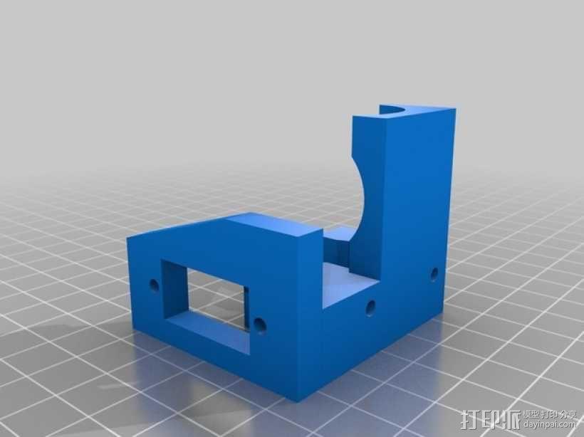 打印机自动调平器 3D模型  图2