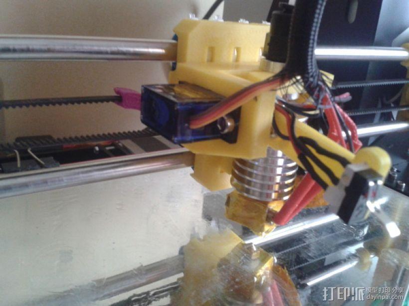 打印机自动调平器 3D模型  图1