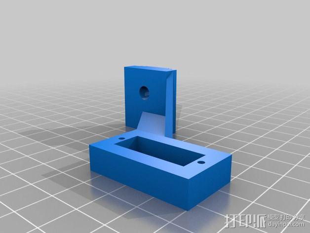 K8200 / 3Drag打印机Z轴探针支架 3D模型  图2