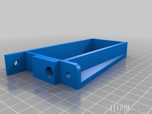 MendelMax 1.5+ PSU电源支架 3D模型  图2