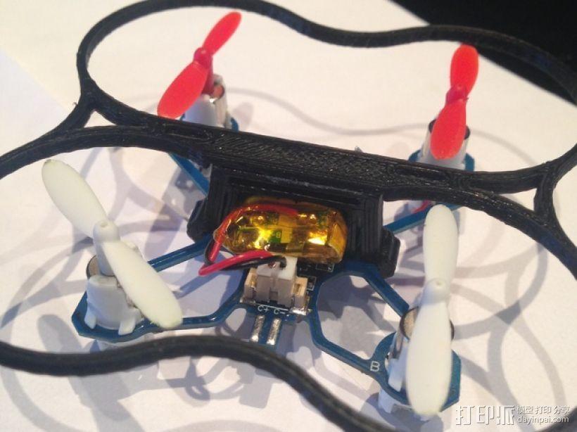 Hubsan / Proto x Q4四轴飞行器电池夹 3D模型  图5