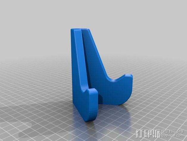 手机支架 3D模型  图3