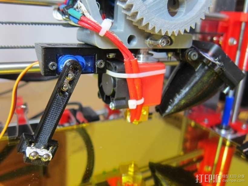 J-Head喷头自动调平器 3D模型  图1