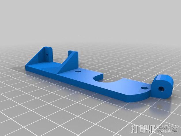 J-Head喷头自动调平器 3D模型  图3