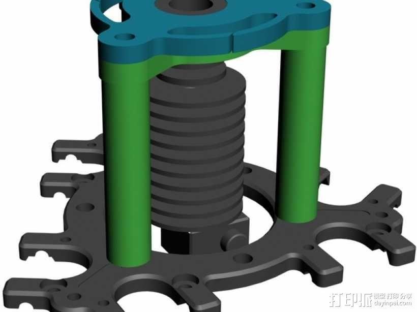 喷头支架 3D模型  图11