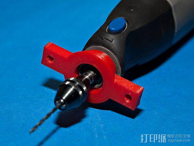 达美电摩适配器 3D模型  图6