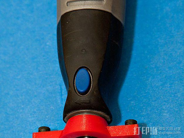 达美电摩适配器 3D模型  图4