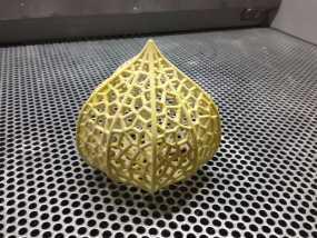灯笼草  灯罩 3D模型