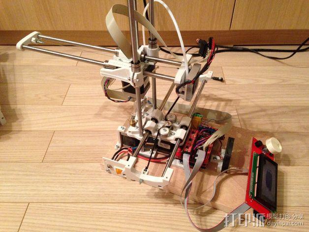 自制打印机 3D模型  图16