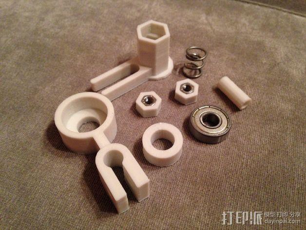 自制打印机 3D模型  图18
