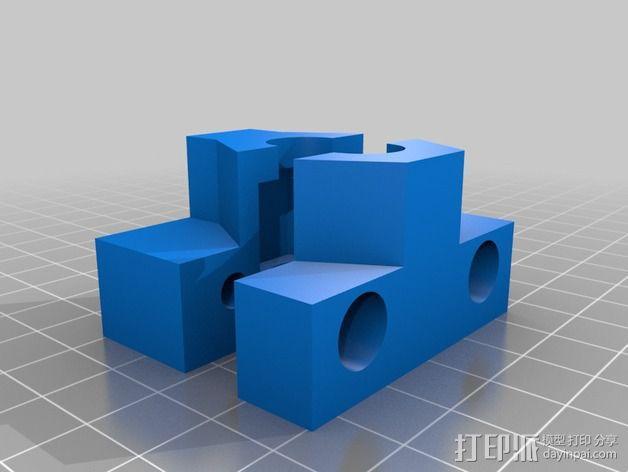 k8200打印机Z轴部件 3D模型  图2