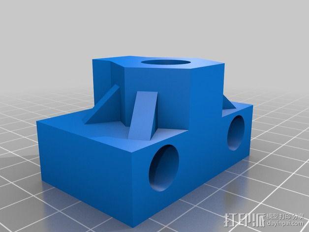 k8200打印机Z轴部件 3D模型  图3