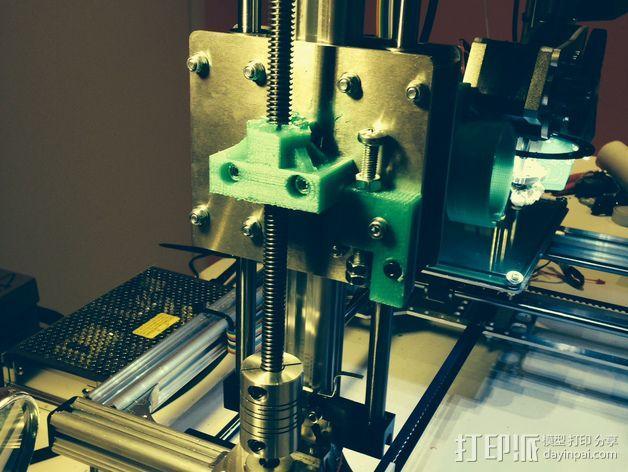 k8200打印机Z轴部件 3D模型  图1