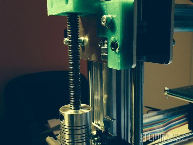 k8200打印机Z轴部件 3D模型  图7