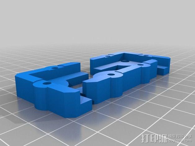 玻璃夹 3D模型  图4