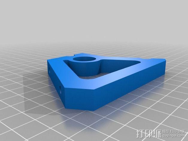 控制器液晶显示屏支架 3D模型  图7