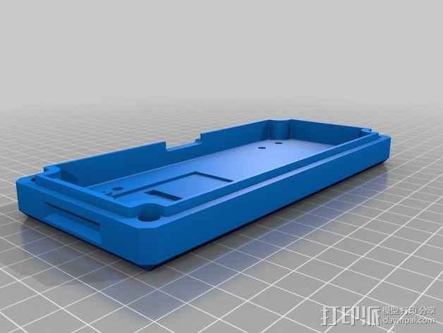 控制器液晶显示屏支架 3D模型  图9