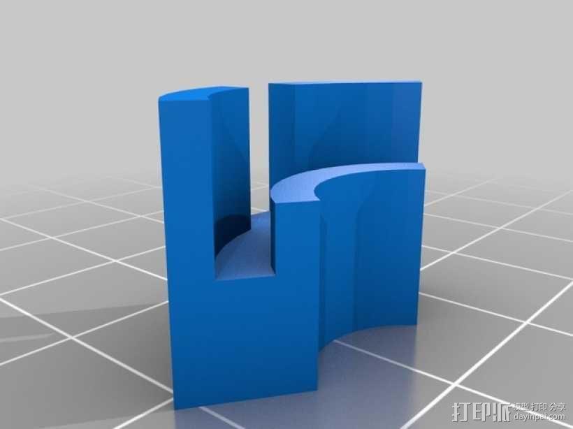打印机垫片  3D模型  图1
