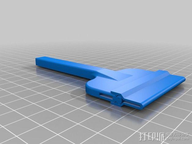 小刮刀 小铲子 3D模型  图3