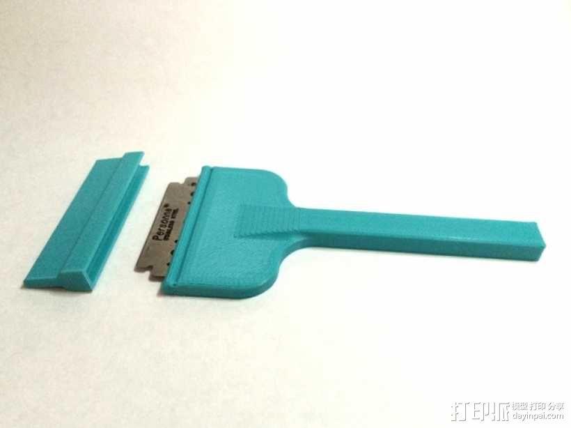 小刮刀 小铲子 3D模型  图1