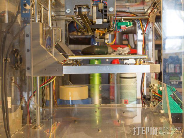 Duplicator 打印机热床支撑臂 3D模型  图4