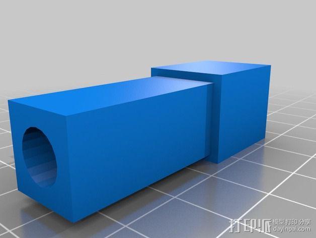 Duplicator 打印机热床支撑臂 3D模型  图8