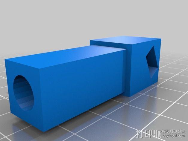 Duplicator 打印机热床支撑臂 3D模型  图7