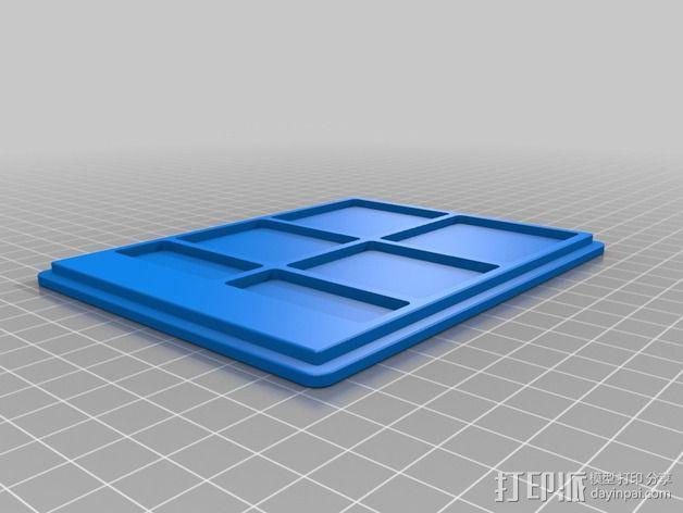 控制器保护盒 3D模型  图4