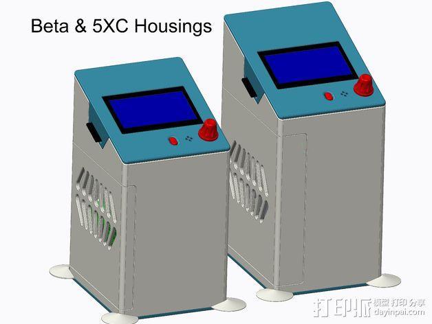 控制器保护盒 3D模型  图3